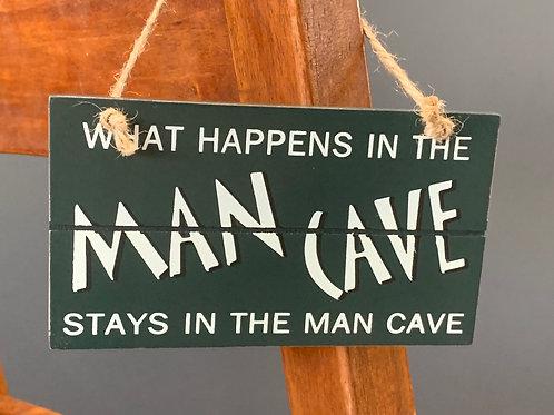 Black Man Cave Sign