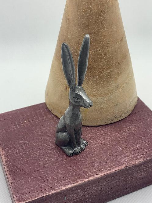 Sitting Hare Ring Holder