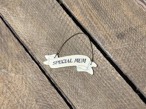 Special Mum Mini Wooden Hanger