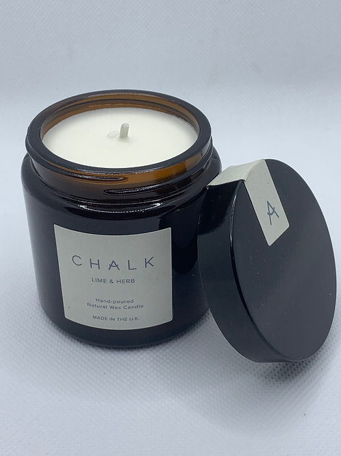 Chalk Uk Lime & Herb Candle