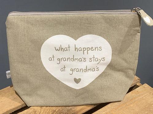 Grandma's Cosmetic Bag