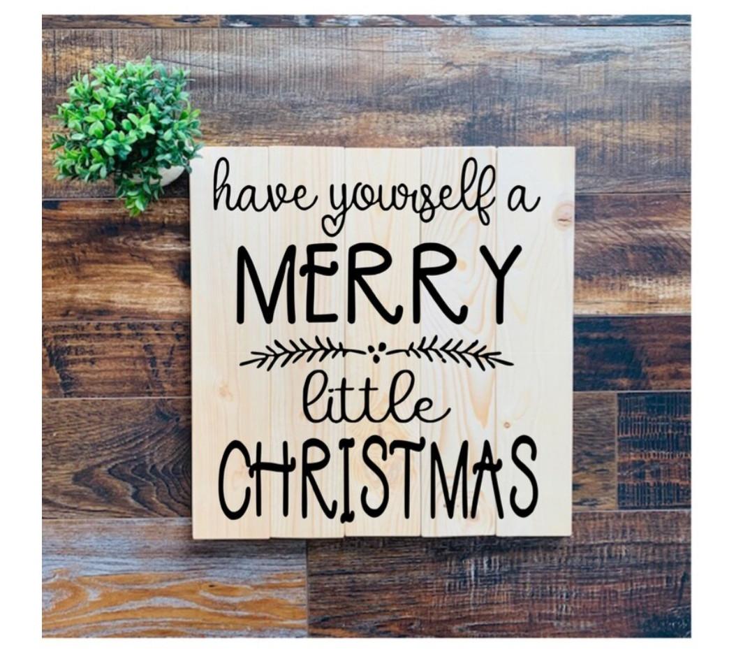 "#4 ""Merry Little Christmas"""