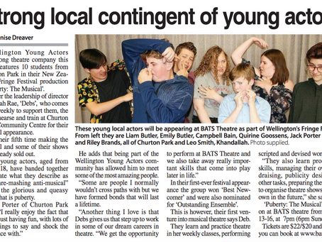 Hey Mum, we're in the Independent Herald