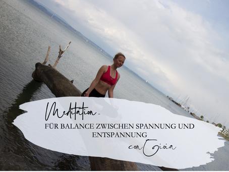 Meditation - Balance zwischen Anspannung und Entspannung finden