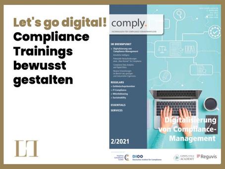 Let's go digital! Compliance Trainings bewusst gestalten