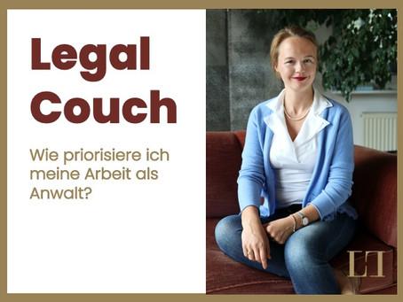 Wie priorisiere ich meine Arbeit als Anwalt?