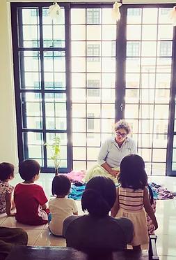 Early Childhood Program Class With Teacher
