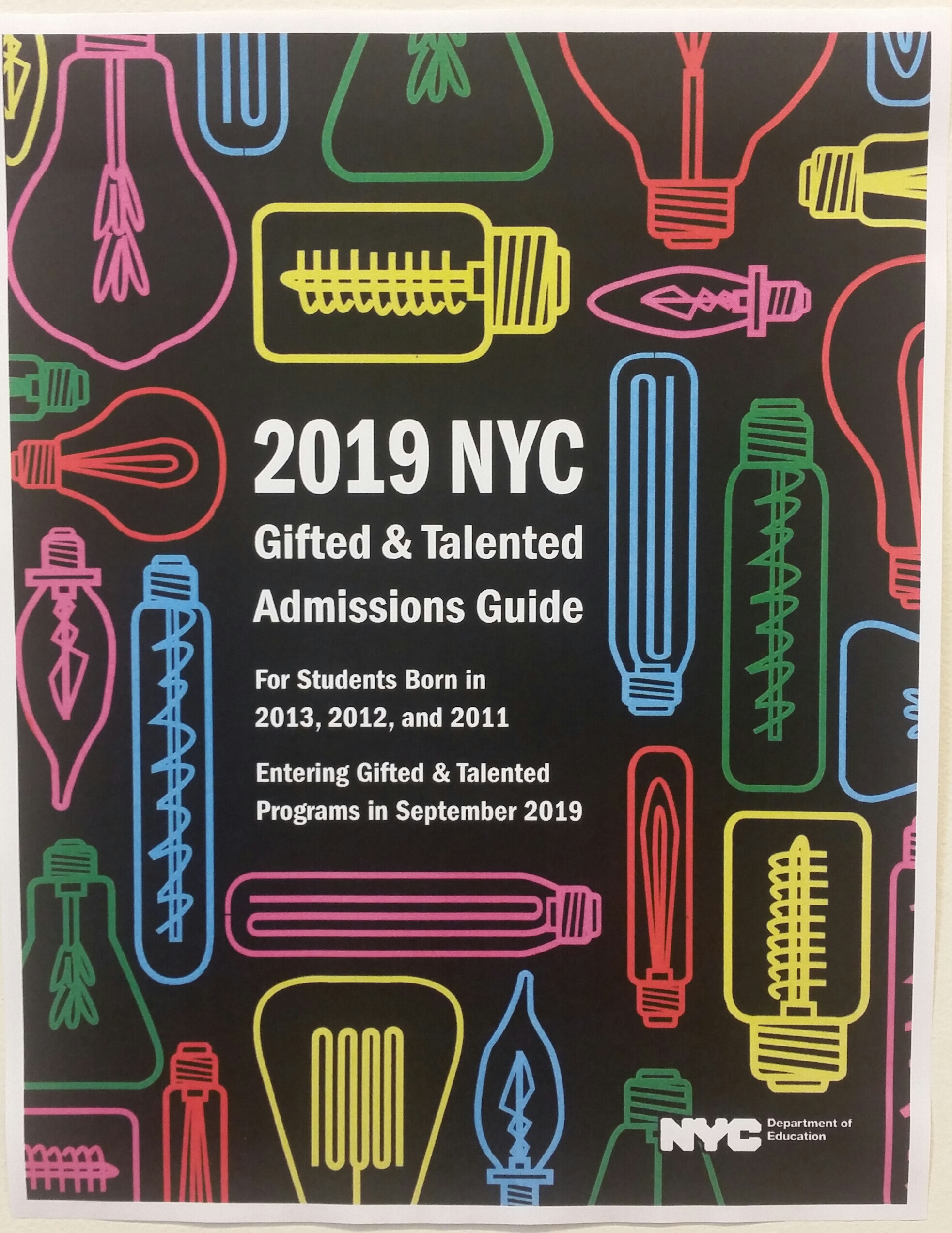 2019 NYC Gifted & Talented Admissions | P.S.56Q Harry Eichler Elementary School