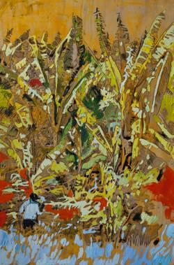 MEKONG 02_oil on poliester on wood 120x80