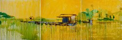 MEKONG 13_oil on canvas 70x240