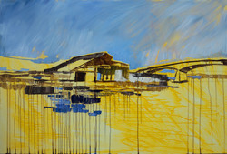 MEKONG 12_oil on canvas 80x120