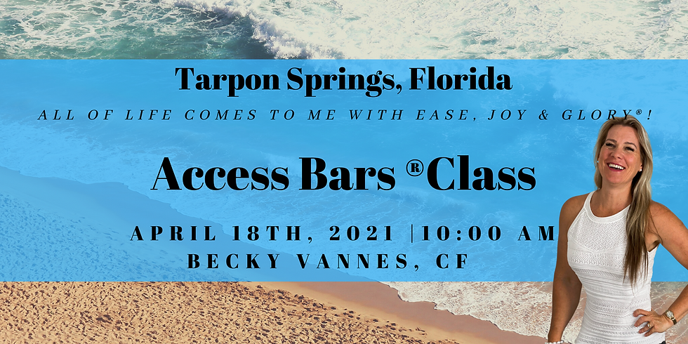 The Bars® Class with Becky Vannes