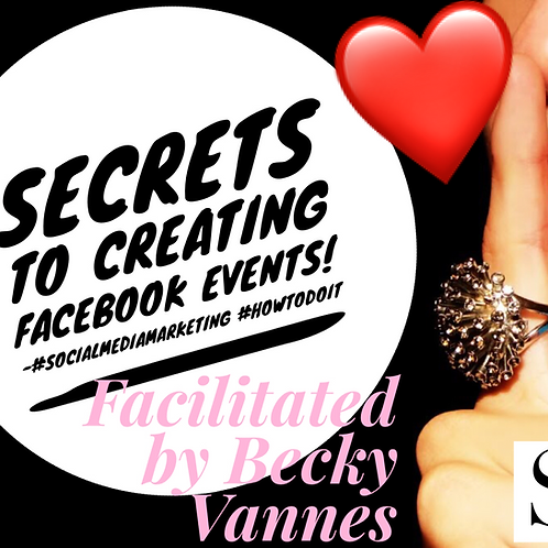 Secrets to Creating a Successful Facebook Event & Class