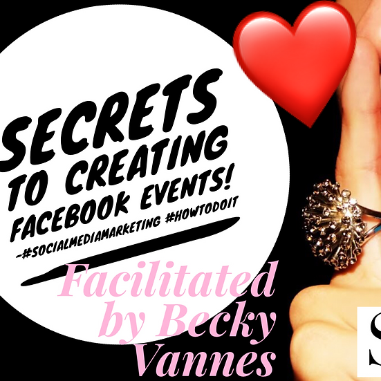 Secrets to Creating a Successful Facebook Event & Class