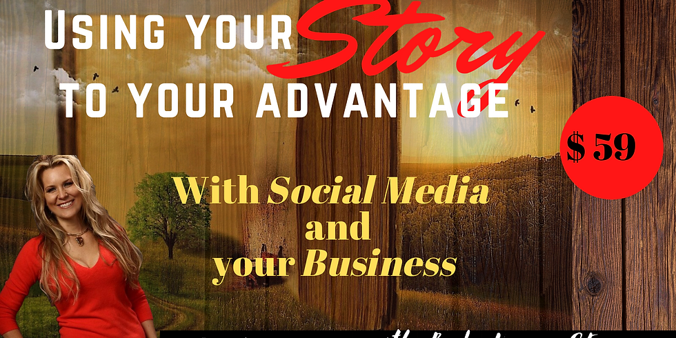 Marketing: Creating Possibilities with your Story!  with Becky Vannes $59