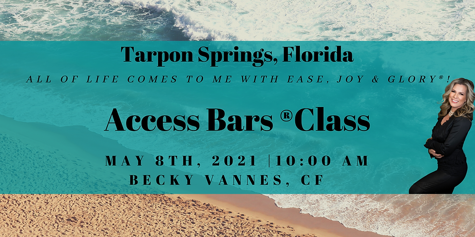 The Bars® Class with Becky Vannes (MAY)