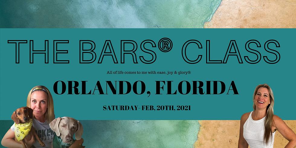 The Bars® Class-Orlando, FL- Becky Vannes & Deborah Brzycki