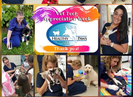 Happy National Veterinary Technician Week!