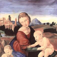 Study of Raffaello