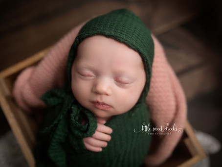 Little Sweet Cheeks Photography, LLC | Central IL, Newborn Photography | Located in Washington, IL