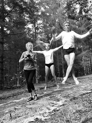 Bynke Maibøll on photoshoot