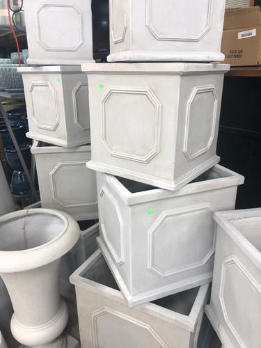#47 Larger pots asst sizes Fiber-stone