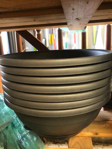 #49 Plastic saucers