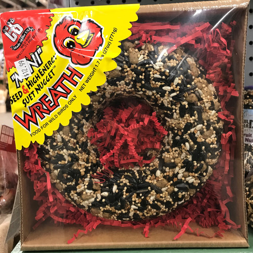 Wild Bird Food Wreath