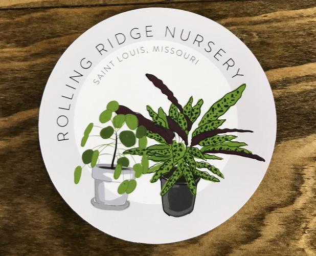 Rolling Ridge Nursery Sticker