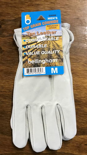 Bellingham Mens Leather Gloves