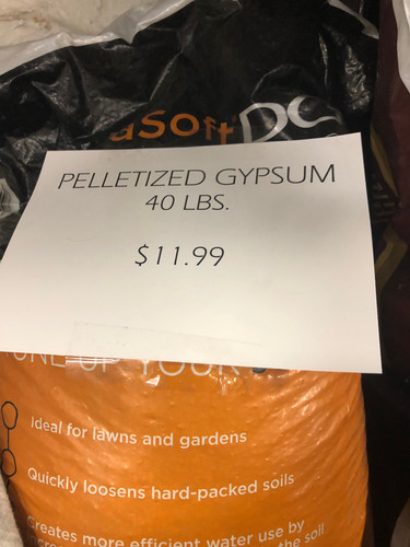 Pelletized Gypsum - 40#