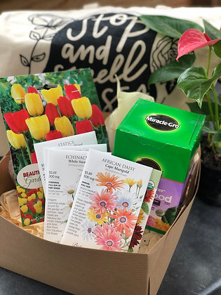 """""""The Flower Enthusiast"""" Gift Box"""