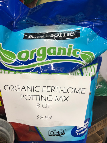 Organic Ferti-Lome Potting Mix - 8 qt