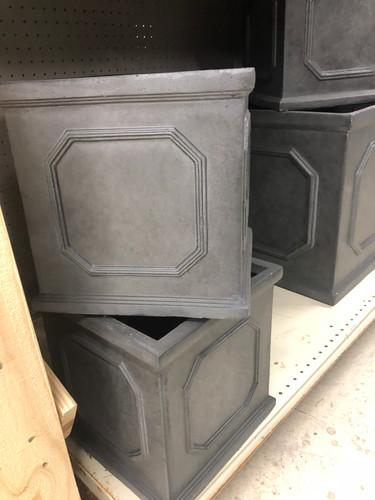 #8 Large pots asst sizes Fiber-stone