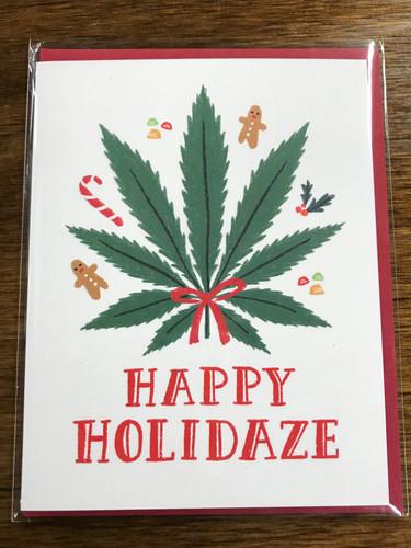 Happy Holidaze Card