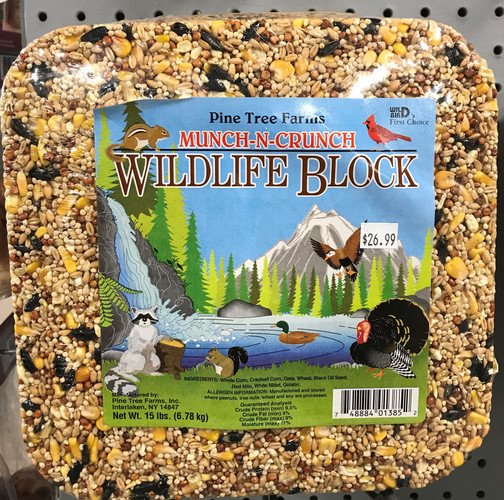 Munch-N-Crunch Wildlife Block.