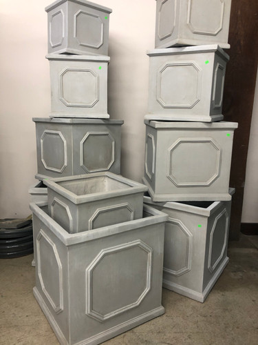 #16 Larger pots Asst sizes Fiber-stone