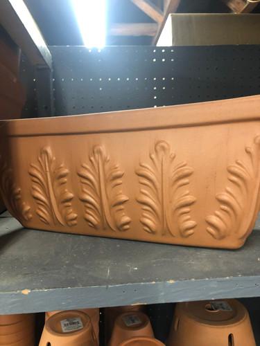 #34 terracotta window box