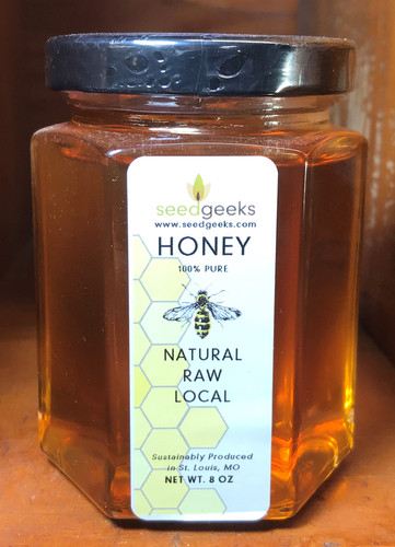 100% Raw Honey - 8oz
