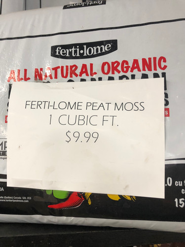 Ferti-Lome Peat Moss - 1 cubic ft