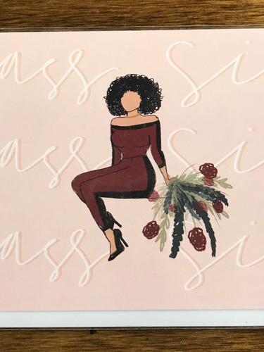 Yass Sis Card
