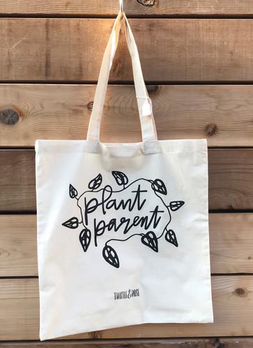 """""""Plant Parent"""" Tote Bag"""