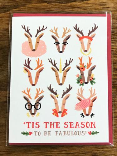 'Tis The Season To Be Fabulous Card