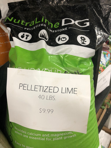 Pelletized Lime - 40#