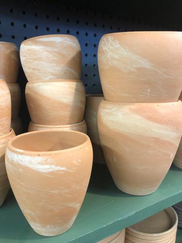 #61 Smaller pots asst sizes terracotta