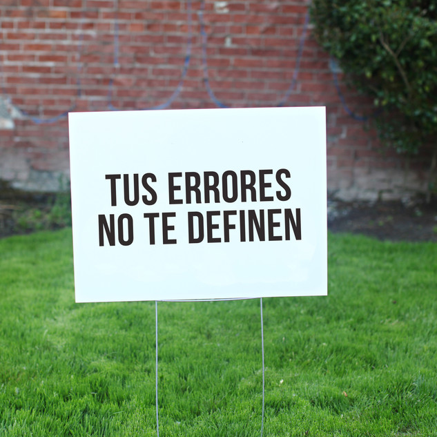 Tu Errores Merch Sign.jpg