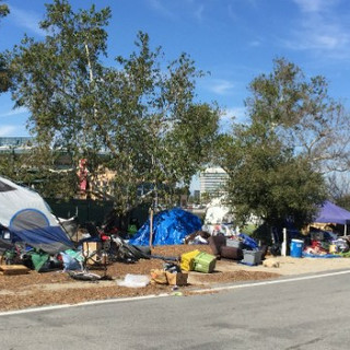 Anaheim Homeless Encampment