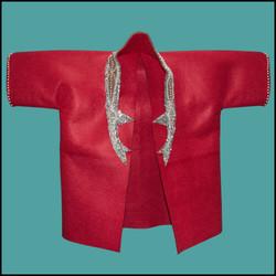 Stag beetle kimono