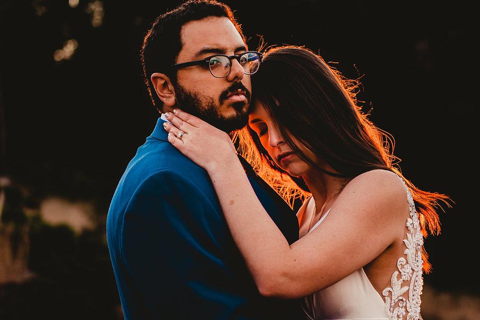 Pareja de Novios. Ignacio Huitrón fotógrafo de bodas