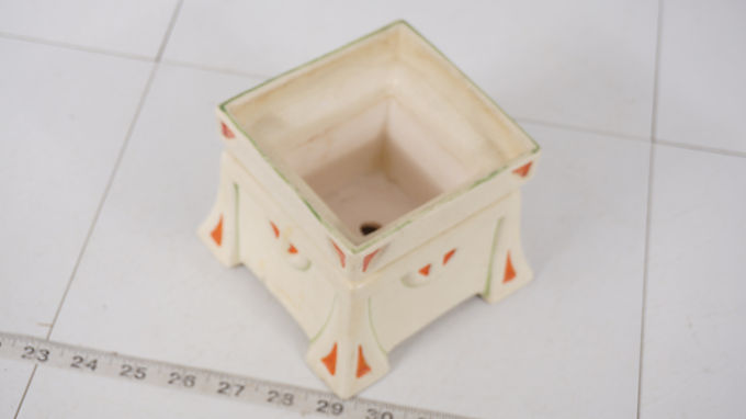 Arts And Crafts Ceramic Flower Pot